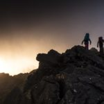On the Cuillin at sunset, Skye